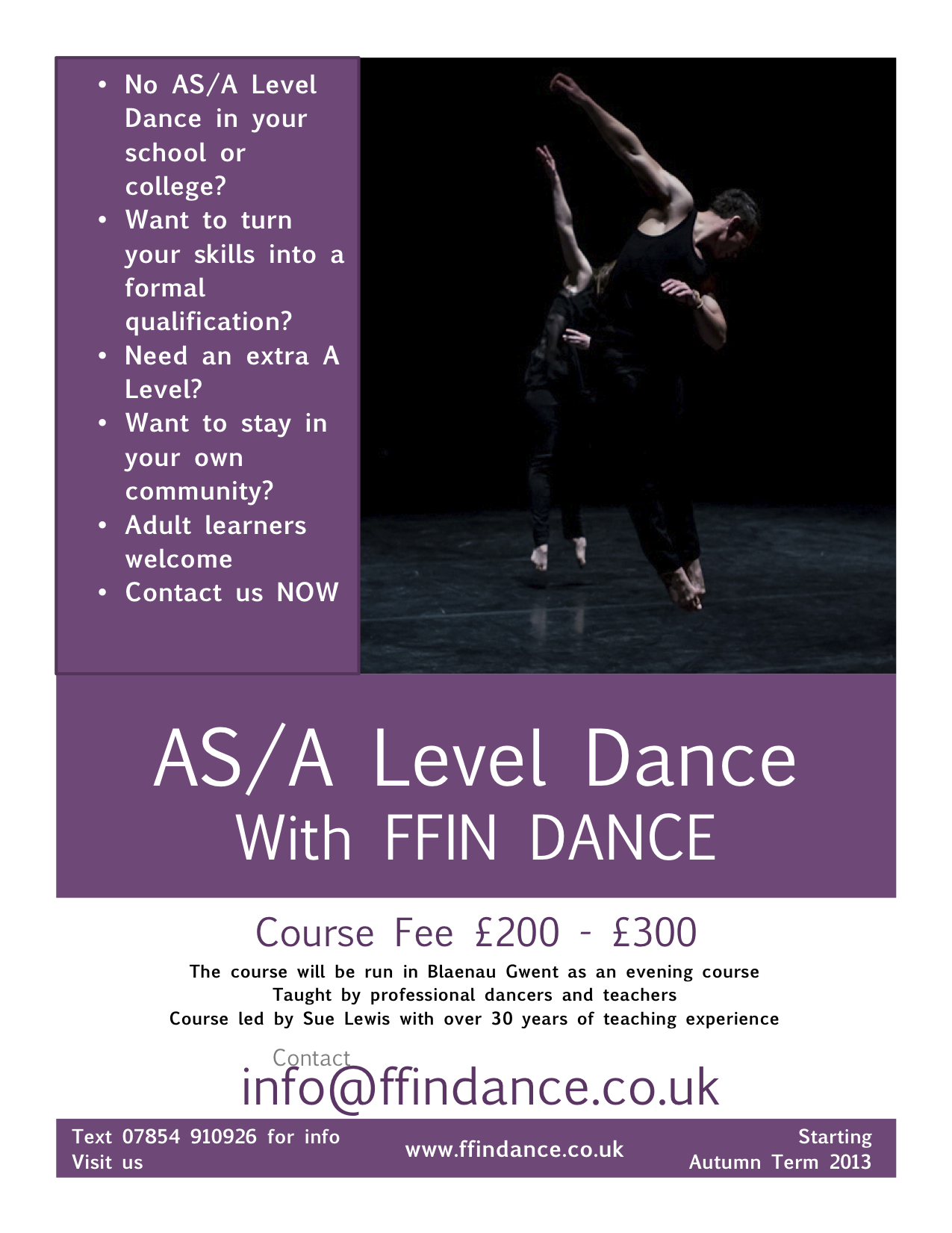 a level dance coursework Get your head around tough topics at a-level with our teacher as and a level essays you will be studying at a level will be appropriate for the course.