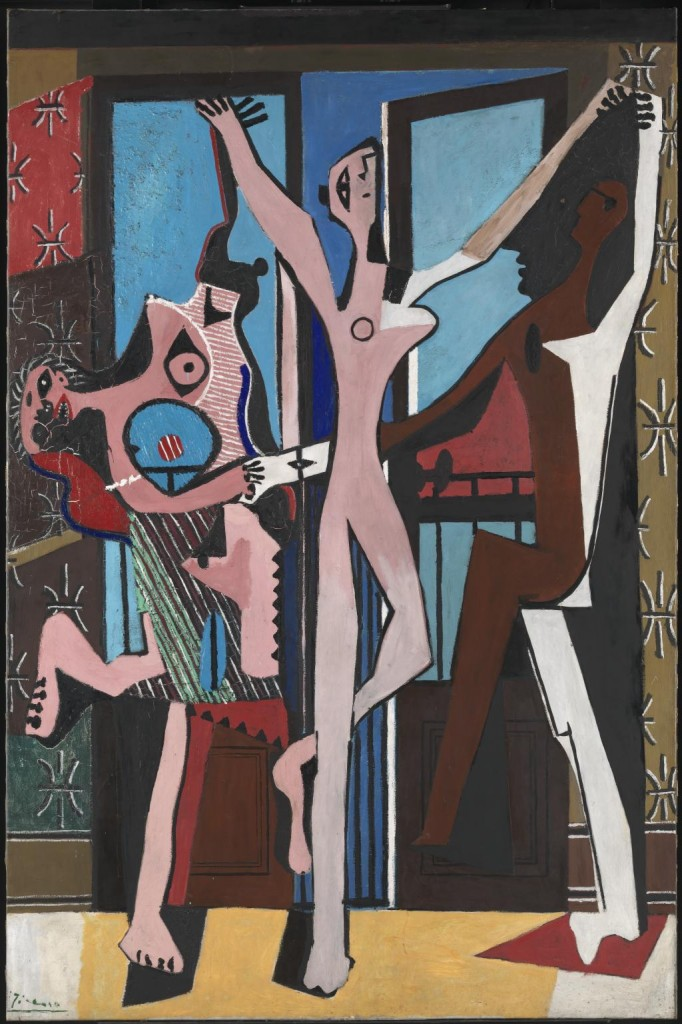 Picasso Three Dancers