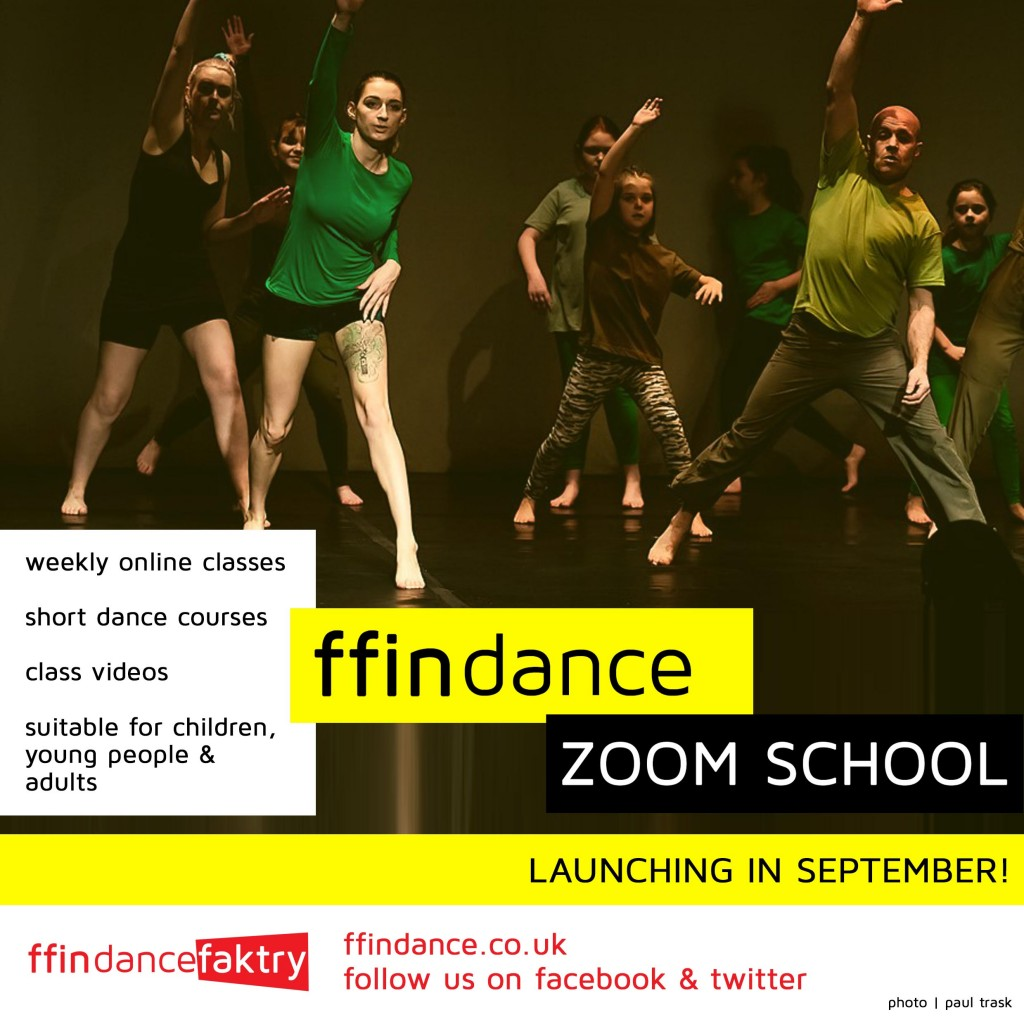 the FFIN DANCE zoom school